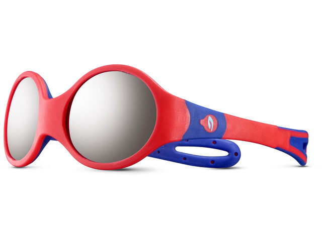 Julbo Loop M Spectron 4 Occhiali da sole Bambino, orange/blue/grey flash silver